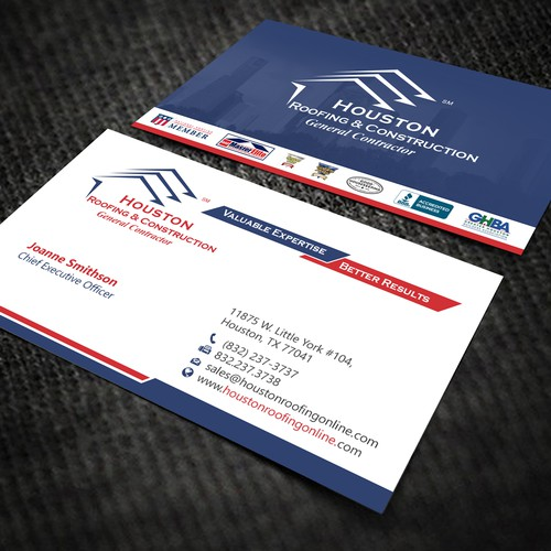 Houston Roofing & Construction GC Card