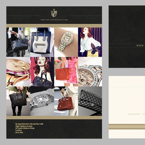 High Fashion Leaflet/Card/Flyer to attract SELLERS & Buyers