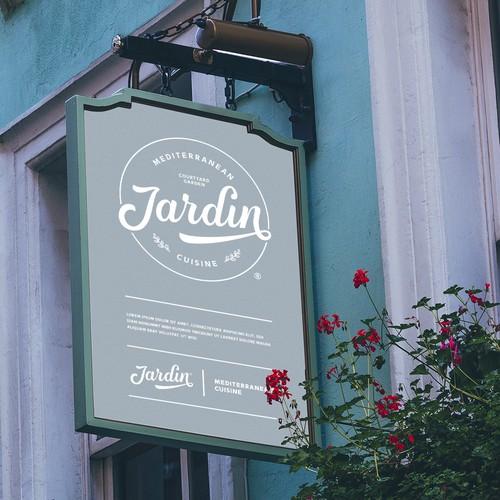 Logotype design for Jardin