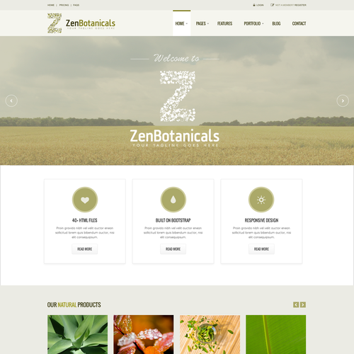 Zenbotanicals needs a kick ass designer to kick start our company!