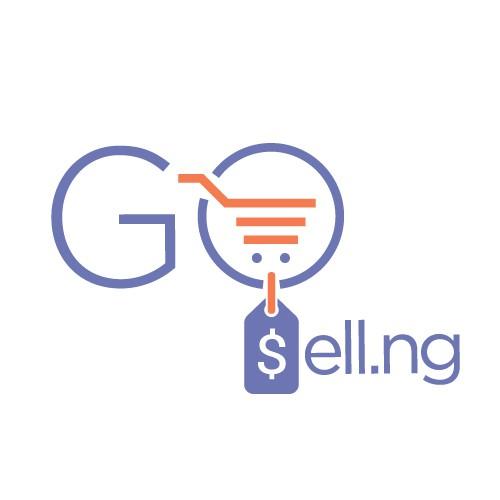 GoSellng logo design