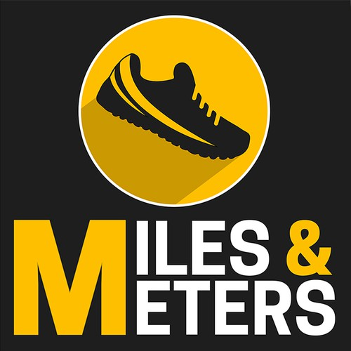 Miles & Meters Podcast Logo Concept