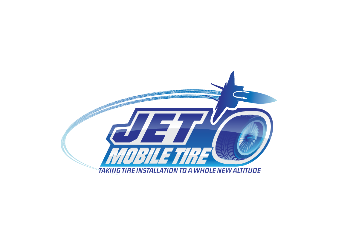Create the next logo for JET Mobile Tire