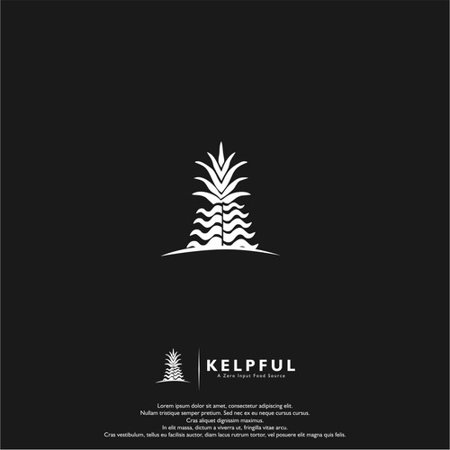 pineapple + algea ilustration