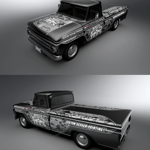 Chevy Truck Wrap
