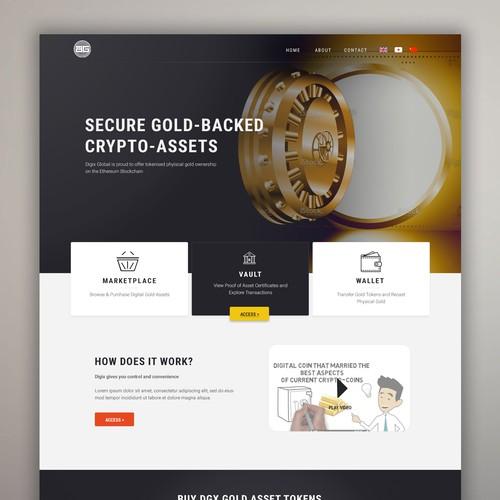 Professional wen design for Bank