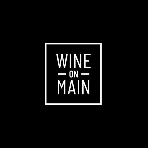 Signage/logo for a wine bar