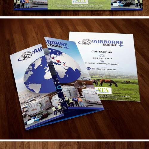 Airborne ( gate fold brochure )