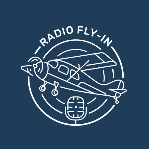 Radio Fly-In Logo
