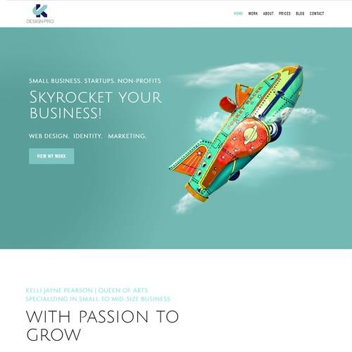 Portfolio Site for Web Designer