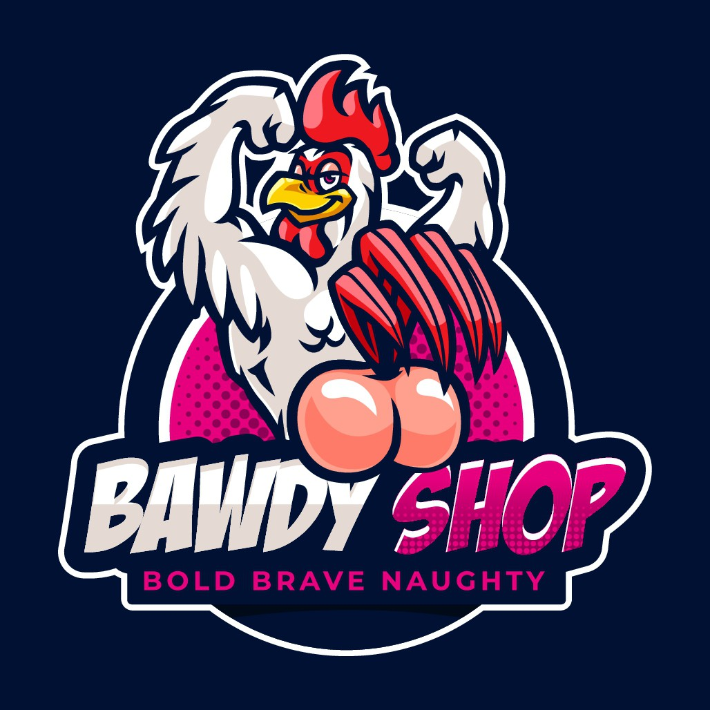 Design the Branding for this new out of the box shirt company. Make them  look twice!  Bawdy Shop - Humorously indecent