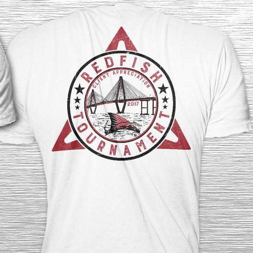 T-shirt Design Concept for Fishing Event