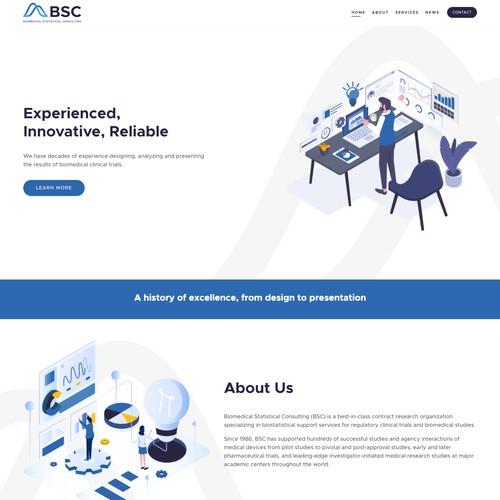 Innovative Professional Business Website Design