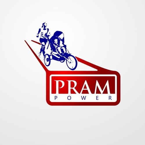 Create a fabulous face for Pram Power to present to the world