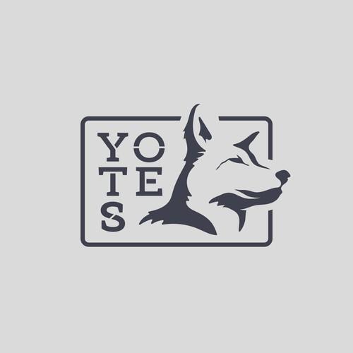 Yotes Logo Concept