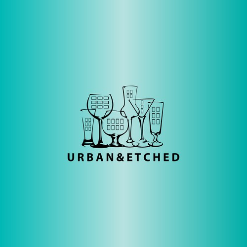 urban&etched