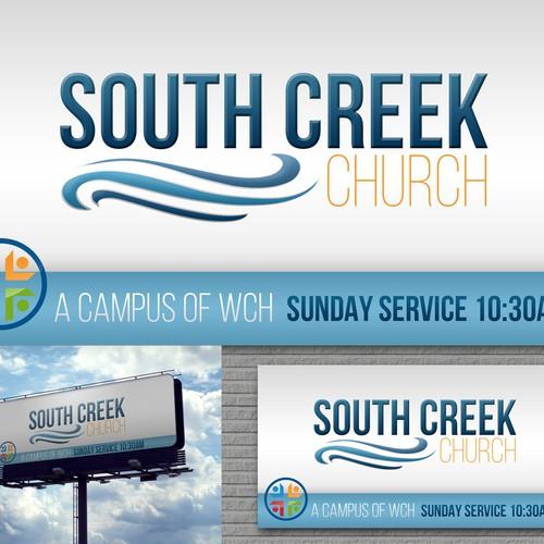 South Creek Church Sign