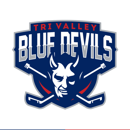 Sport logo for Tri Valley Blue Devils Youth Hockey