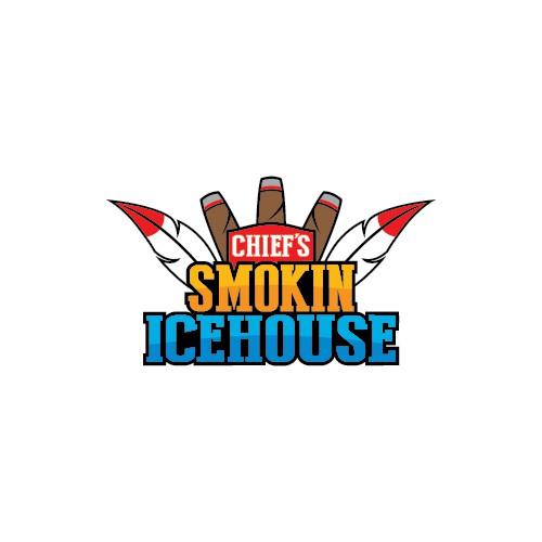 Chief's Smokin Icehouse Logo