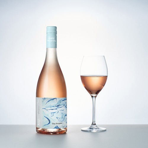 Rosé Wine Label