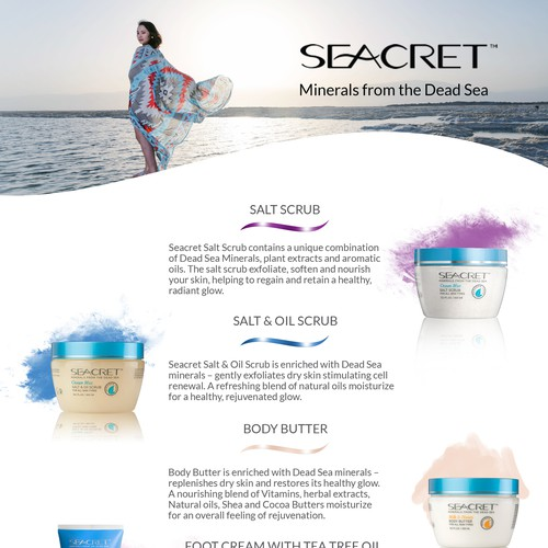 SEACRET FLYERS - PEDICURE - Back