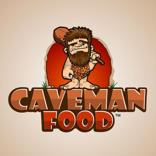 logo for Caveman Food