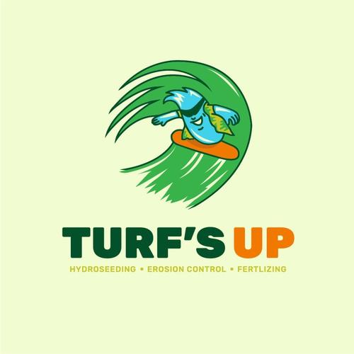 Turfs up logo