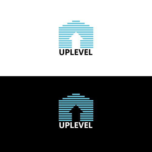 """Simple logo for Real Estate company """"Uplevel"""""""