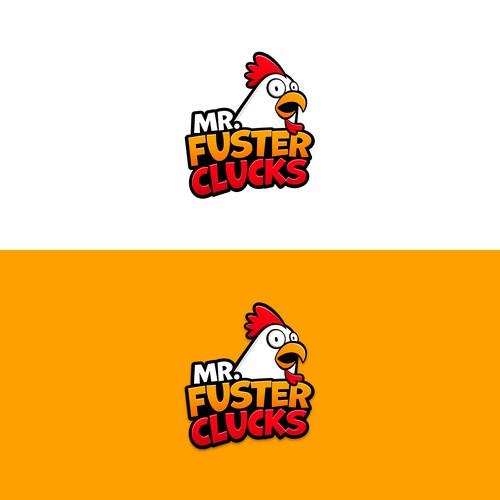 Mr. Fuster Clucks Logo Design