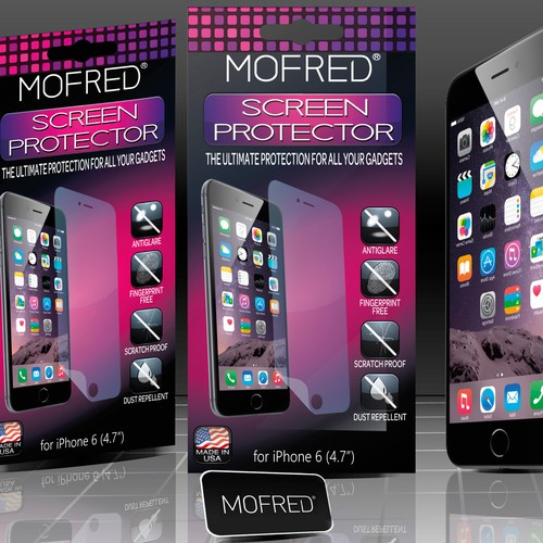 iPhone 6 Screen Protectors Package