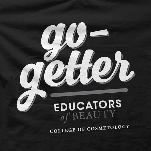 T shirt Design for Cosmetology College