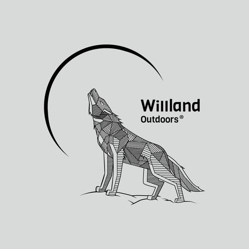 WillLand Outdoors Logo Design