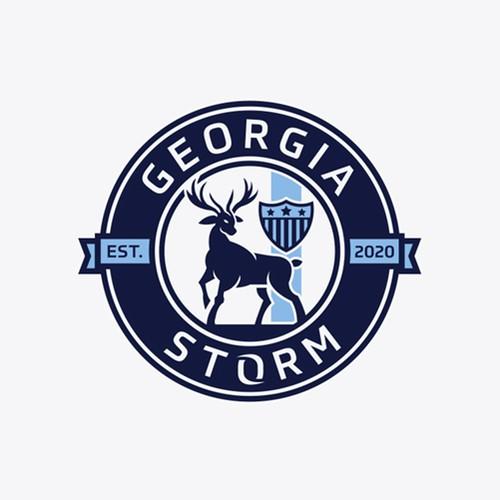 Logodesign for soccer club