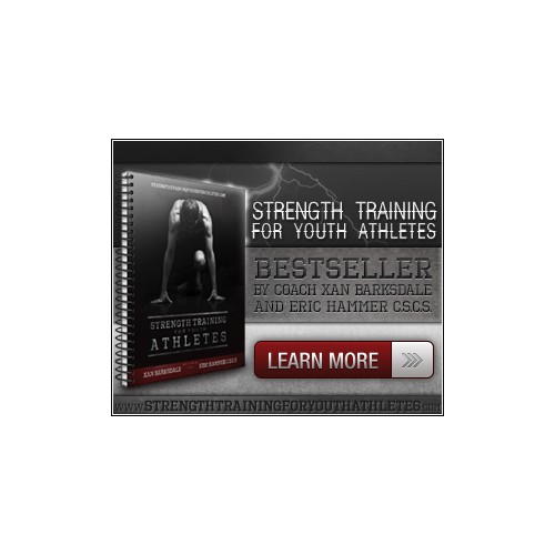 Help Strength Training for Youth Athletes with a new banner ad