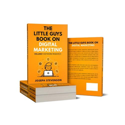 Modern Design for a Digital Marketing Book Cover