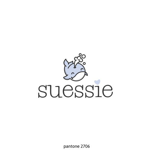 Cute logo for baby product's brand