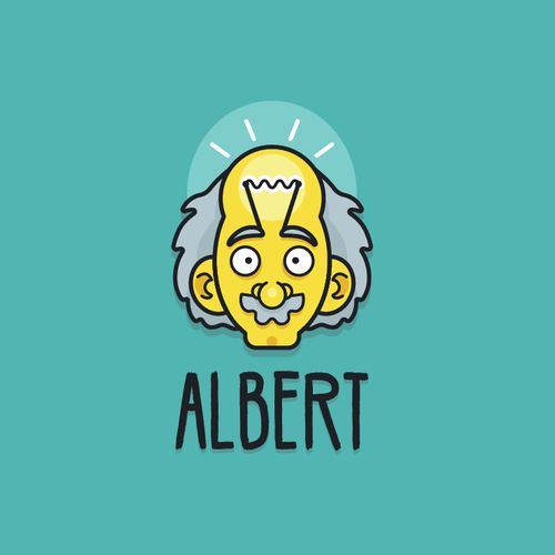 Logo design based on Einstein.