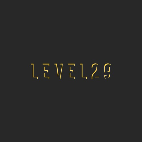 Level29  negative space logo