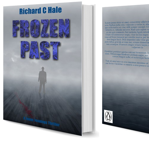 Mysterious cover for thriller book