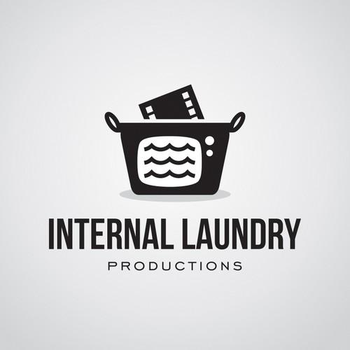 TV production company logo design