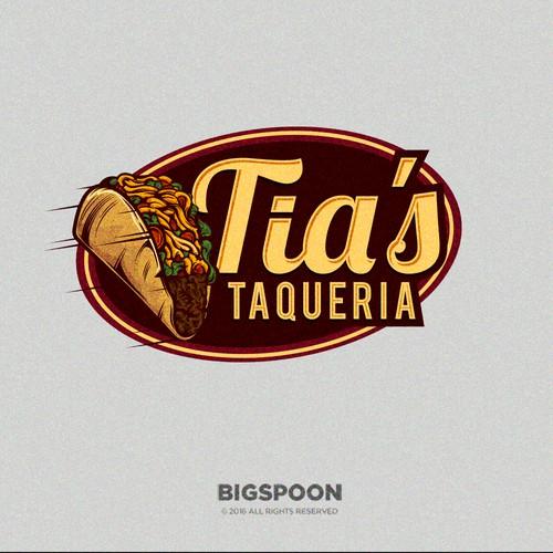 Logo Proposal for Tia's Taqueria