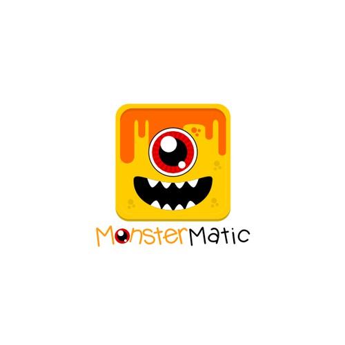 Monster Logo for MonsterMatic