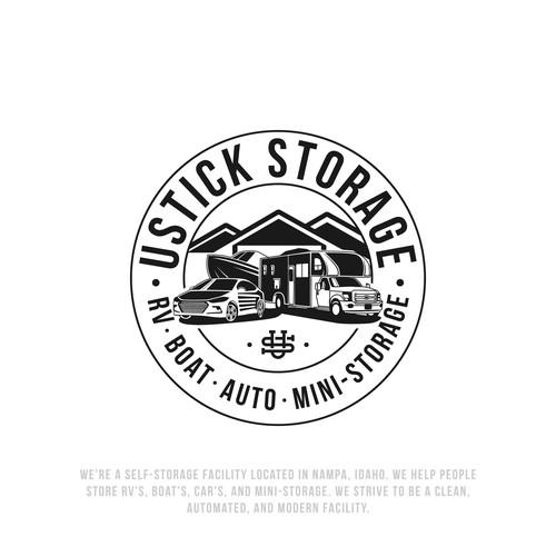 logo for vehicles storage