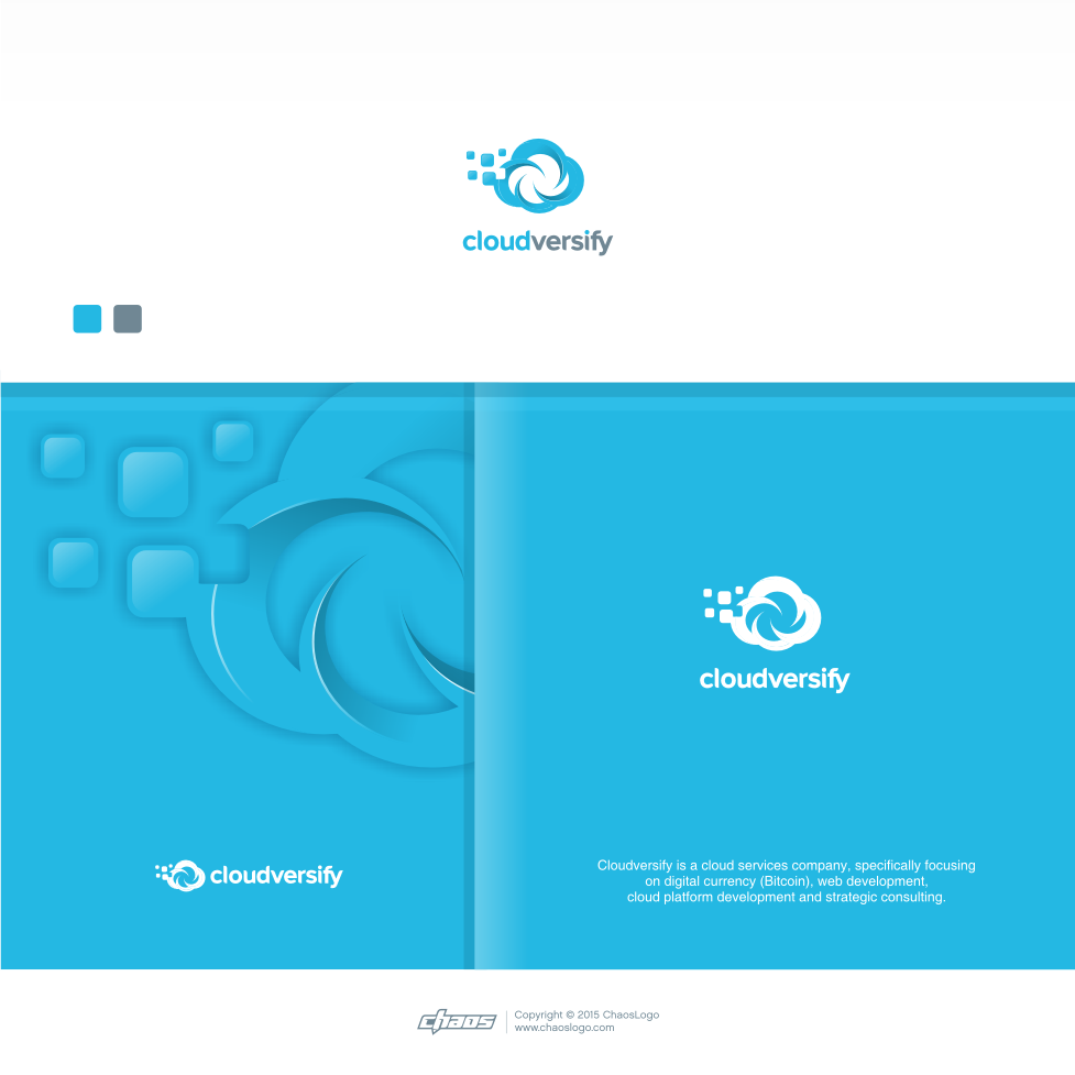 Create an eye-catching logo for Cloudversify, a brand new cloud services startup!
