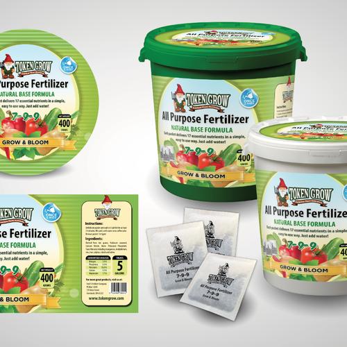Product Label for Fertilizer