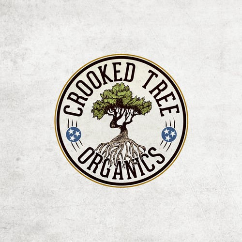 Crooked Tree logo design