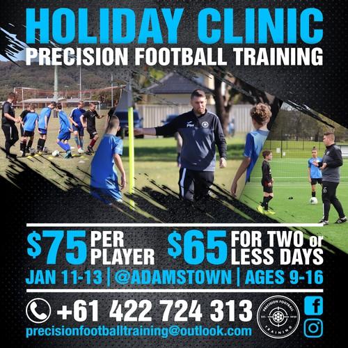 Football Training Social Media posting