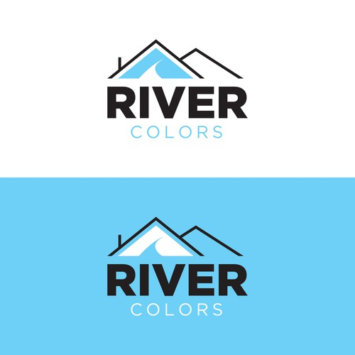 River Colors - Logo Concept