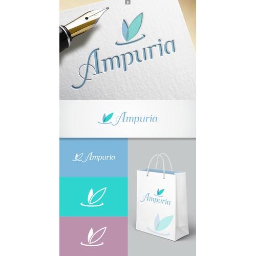 LOGOTIPO AMPURIA COSMETICOS E PERFUMES