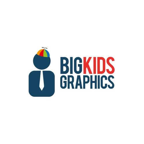 Help Big Kids Graphics with a new logo